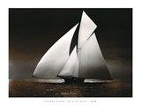 Iverna Yacht at Full Sail, 1895 Affiche par  Unknown