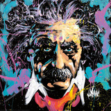 Einstein E=MC2 Láminas por David Garibaldi