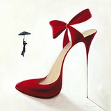 High Heels-Obsession Print by Inna Panasenko