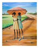 Friends Print by Elgina McCrary
