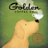 Golden Dog Coffee Co. Print by Ryan Fowler