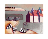 Harbour Inlet Sztuka autor Derek Melville