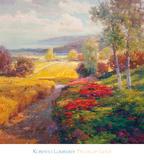 Campos de oro Lámina por Roberto Lombardi