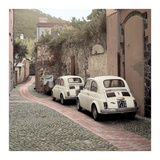 Fiat 500s Art by Alan Blaustein