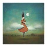 High Notes for Low Clouds Poster von Duy Huynh