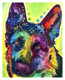 German Shepherd Posters by Dean Russo