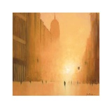 Morning Light - 5th Avenue Prints by Jon Barker