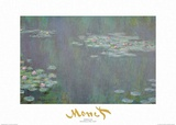 Nymphaeas 2 Prints by Claude Monet