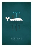Moby Dick Minimal Posters by Christian Jackson
