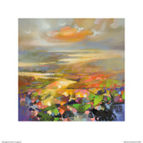 Highland Terrain Posters by Scott Naismith