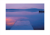 Jetty at Sunset Prints by Alison Shaw