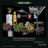 Man Cave Posters av Michael Godard