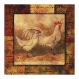 Hen and Rooster I Prints by  Studio Voltaire