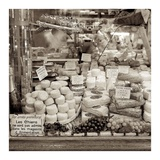Marketplace 9 Print by Alan Blaustein