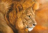 Lion du Serengeti Kunst von Danielle Beck