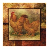 Hen and Rooster II Prints by  Studio Voltaire