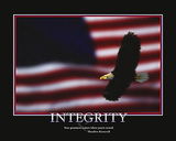 Integrity Poster by  Unknown