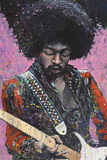 Jimi (Hendrix) Kunstdrucke von Stephen Fishwick