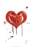 Dvärgpapegojor Posters av Lora Zombie