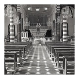 Liguria Church Interior 1 Prints by Alan Blaustein