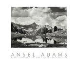 Ansel Adams - Mount Clarence King, 1925 - Reprodüksiyon