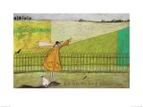 Let's Take the Bus to Somewhere New Print by Sam Toft