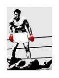 Muhammad Ali (Gloves) Print van Unknown,