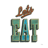 Let's Eat Prints by Barry Goodman