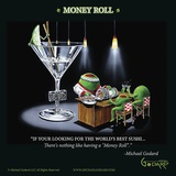 Money Roll Posters av Michael Godard