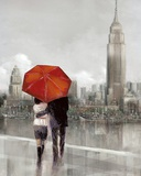 Modern Couple in NY Prints by Ruane Manning