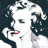 Marilyn Monroe II Prints by Irene Celic