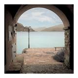 Lakeside Portal Promenade 1 Art by Alan Blaustein