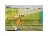 Let's Take the Bus to Somewhere New Prints by Sam Toft