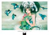 Iguana Prints by Camilla d'Errico
