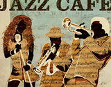 Jazz Café Prints by Kyle Mosher