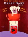 Great Dane Brand Coffee Posters by Ken Bailey