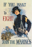 If You Want to Fight! Prints by Howard Chandler Christy