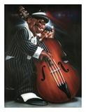 Jazzman D Posters af Leonard Jones