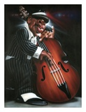 Jazzman D Posters by Leonard Jones