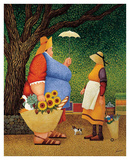 Market Day Poster by Lowell Herrero