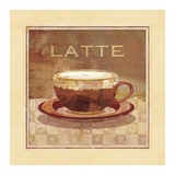 Latte Prints by Linda Maron