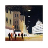 Late Shoppers - Harrods Prints by Jon Barker