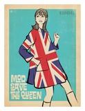 Mod Save the Queen Affiche par  Anderson Design Group