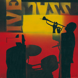 Live Jazz Prints by Bob Celic