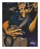 Movin' Strings Schilderij van David Garibaldi