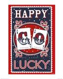Happy Go Lucky Art by Mary Fellows