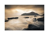 Sepia Sea, Lofoten Islands Prints by Andreas Stridsberg