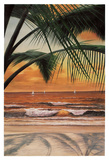 Paradiso Sunset Posters by Diane Romanello