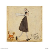 Rover's Day Out Print by Sam Toft