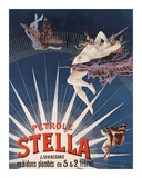 Pétrole Stella Print by Henri Gray